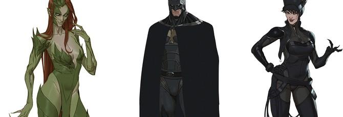 Редизайн Бэтмена — неофициальный апдейт внешнего вида