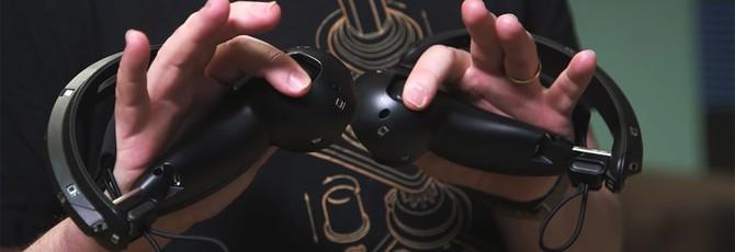 """Детальный взгляд на """"кулачные"""" VR-контроллеры Valve"""