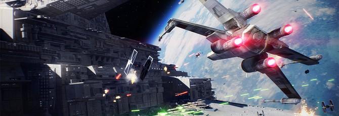 12 минут геймплея космических сражений Star Wars Battlefront II