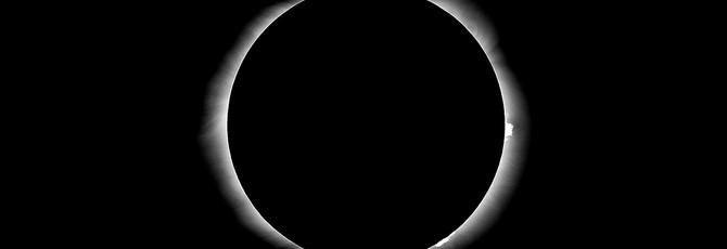 Фотографии и видео полного затмения