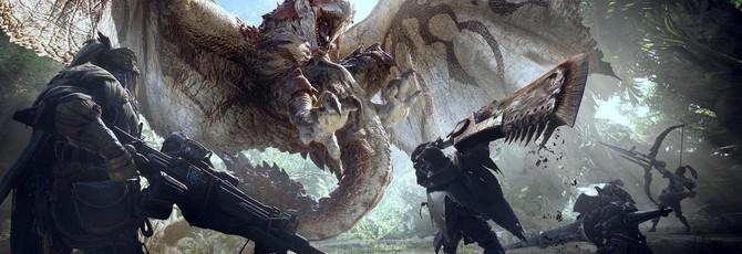 12 минут геймплея Monster Hunter: World