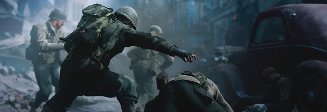 Демонстрация полевого штаба в Call of Duty: WWII