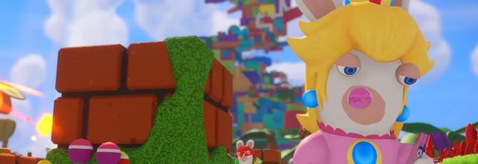 Кролег Пич — еще один персонаж Mario + Rabbids: Kingdom Battle