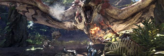 Еще 20 минут геймплея Monster Hunter: World