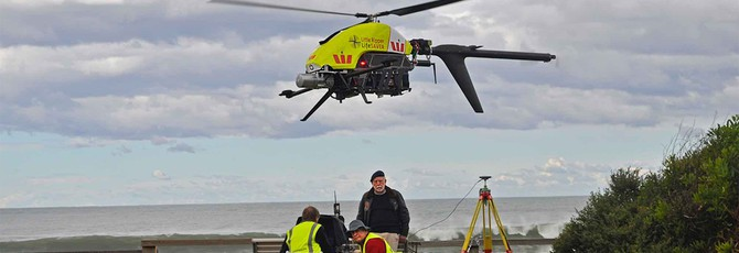 Австралийцы будут следить за акулами при помощи летающих дронов