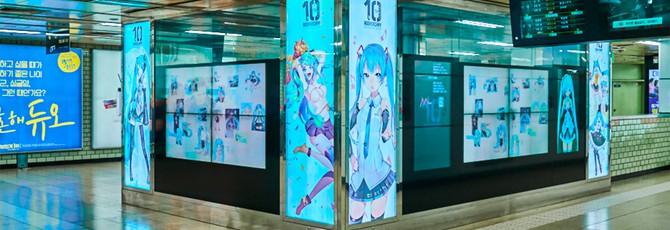 Фанаты Хацунэ Мику  собрали $40 тысяч на храм виртуальному персонажу