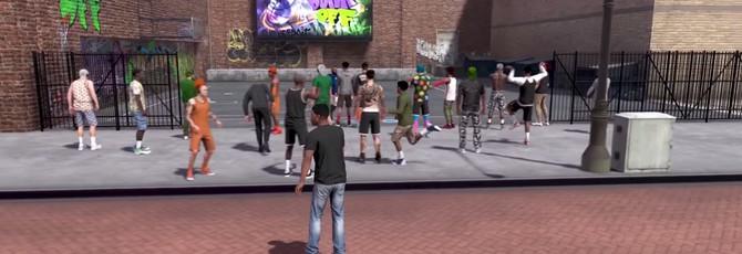 В NBA 2K18 можно прогуляться по району