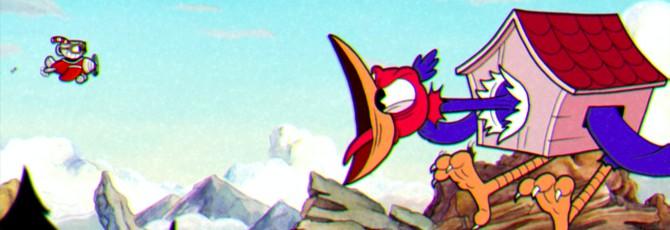 Битвы с боссами в новом геймплее Cuphead
