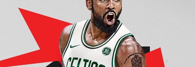Обновленная обложка NBA 2K18 с Кайри Ирвингом