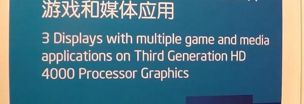 Демонстрация интегрированной графики Intel Ivy Bridge HD 4000