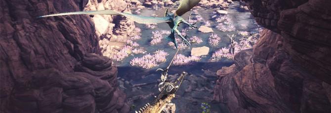 24 минуты геймплея Monster Hunter: World с TGS 2017