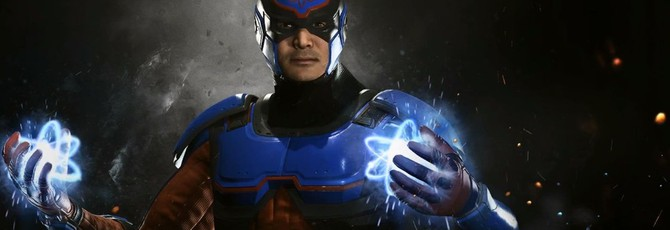 Атом станет новым игровым персонажем Injustice 2