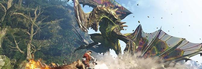 Более двух часов великой охоты в Monster Hunter: World