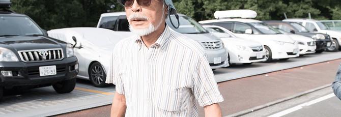 Хаяо Миядзаки вернулся к работе ради своего внука