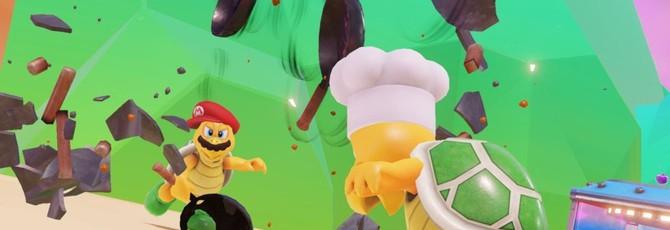 Новый кооперативный геймплей Super Mario Odyssey