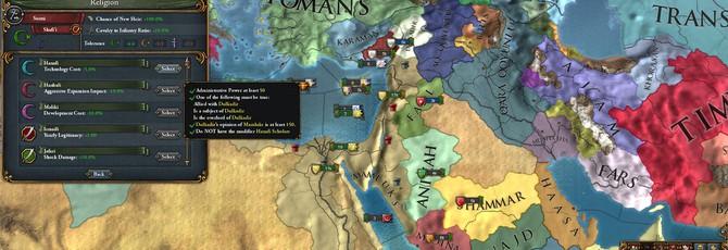 Новые дополнения Europa Universalis IV и Crusader Kings 2 выйдут в ноябре