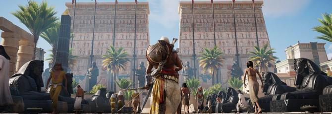 Assassin's Creed Origins взобралась на вершину британского чарта