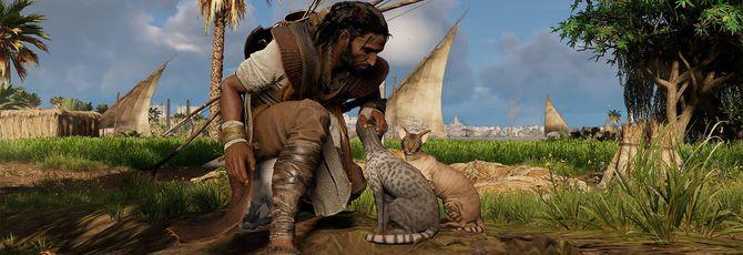 Как гладить кошек в Assassin's Creed Origins
