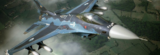 VR-геймплей Ace Combat 7