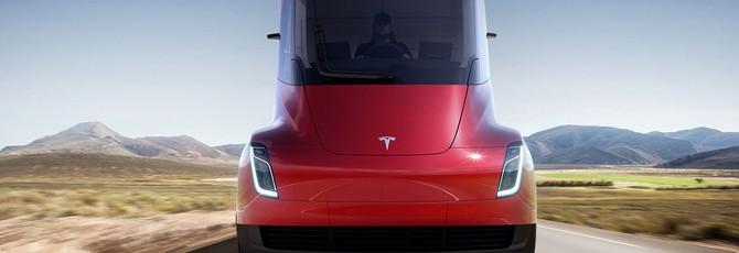 Tesla показала полностью электрический грузовик — Tesla Semi-Truck