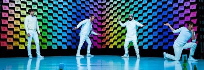 567 цветных принтеров в новом клипе группы OK Go