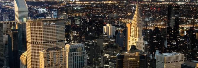 Музыкальный ритм Нью-Йорка в формате лэйер-лэпс