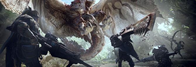 Тонна геймплея Monster Hunter World из бета-теста