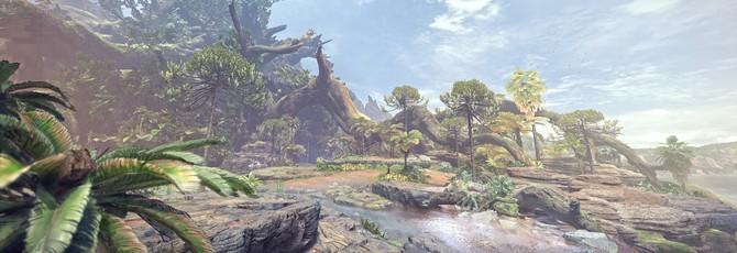 Игровой мир и шикарная природа в новых трейлерах Monster Hunter: World