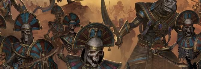 Первый трейлер дополнения Rise of the Tomb Kings для Total War: Warhammer 2