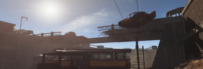 Динамическая погода на новых скриншотах Fallout 4: New Vegas