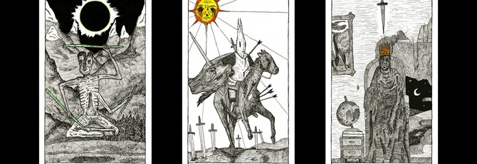 Этот потрясающий набор карт Таро вдохновлен Dark Souls