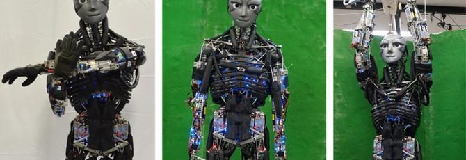 Японские ученые создали потеющего человекоподобного робота