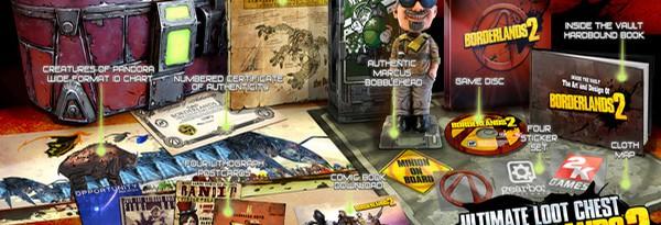 Раскрыта обложка Borderlands 2 и содержание Специального Издания