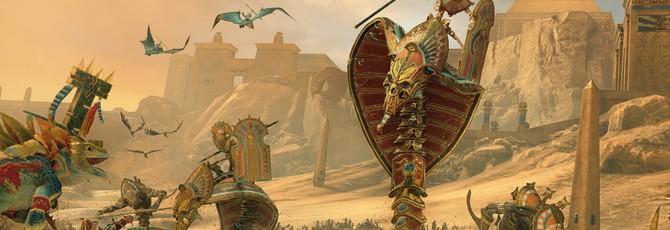 Почти час геймплея дополнения Rise of the Tomb Kings для Total War: Warhammer 2