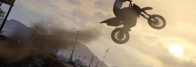 Захватывающие каскадерские трюки в новом видео GTA V