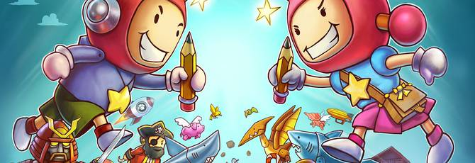 Warner Bros. Intertainment Interactive анонсировала Scribblenauts Showdown