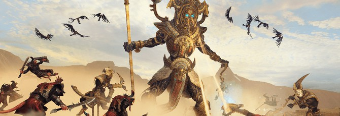 11 минут геймплея Total War: Warhammer 2 — Rise of the Tomb Kings