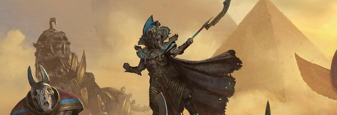 Новый трейлер дополнения Rise of the Tomb Kings для Total War: Warhammer 2