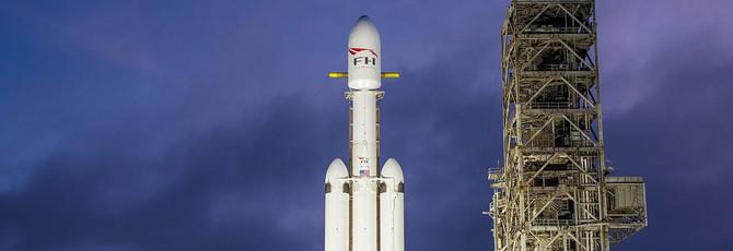 SpaceX не может запустить Falcon Heavy из-за закрытого правительства США