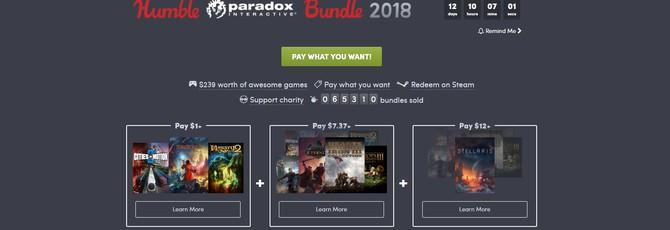 На Humble Bundle стартовал бандл от Paradox Interactive