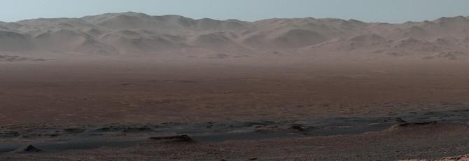 Потрясающая Марсианская панорама Curiosity