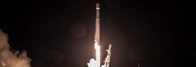 Недавно запущенная ракета SpaceX пережила тест посадки на воду