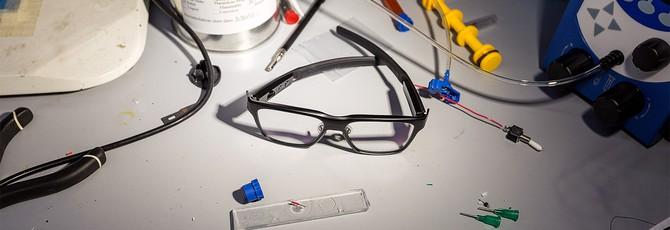 Intel представила собственные очки с дисплеем