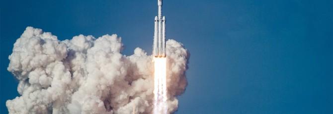 Falcon Heavy успешно запущена