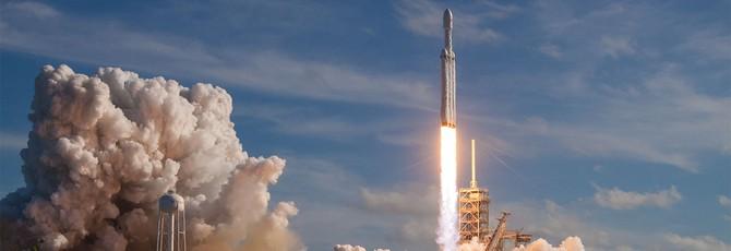 Шикарные фотографии с запуска Falcon Heavy