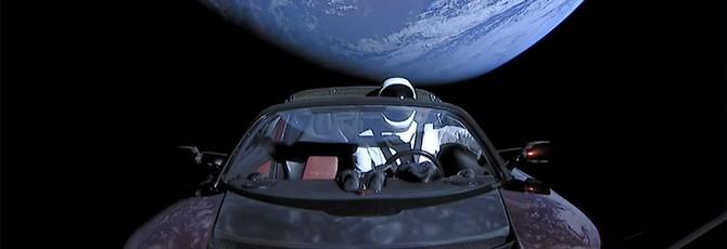 SpaceX спрятала секретный груз на борту отправленного в космос родстера Tesla