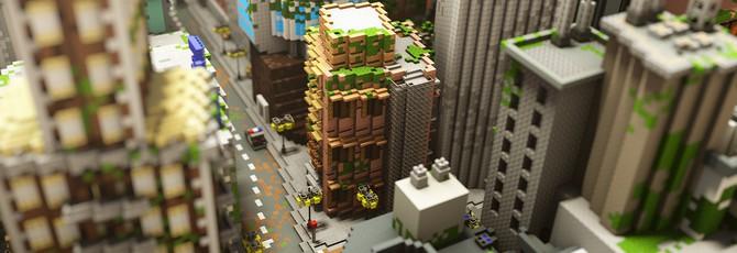Взгляните на этот великолепный город в Minecraft