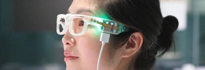 Очки, которые трансформируют текст в звук