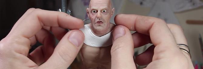 """Создание миниатюрной фигурки Дока из """"Назад в будущее"""""""