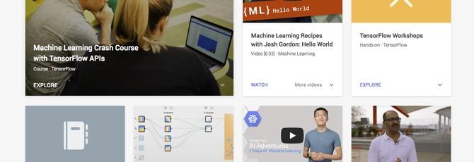 Бесплатные курсы ИИ и машинному обучению от Google